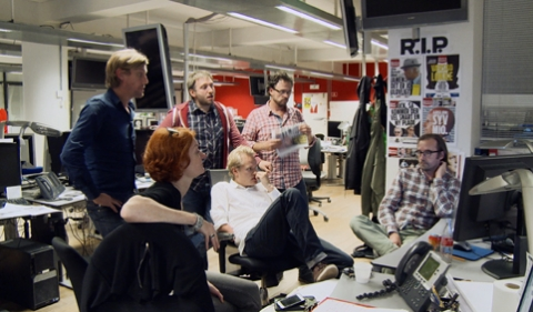THE NEWSROOM OFF THE RECORD