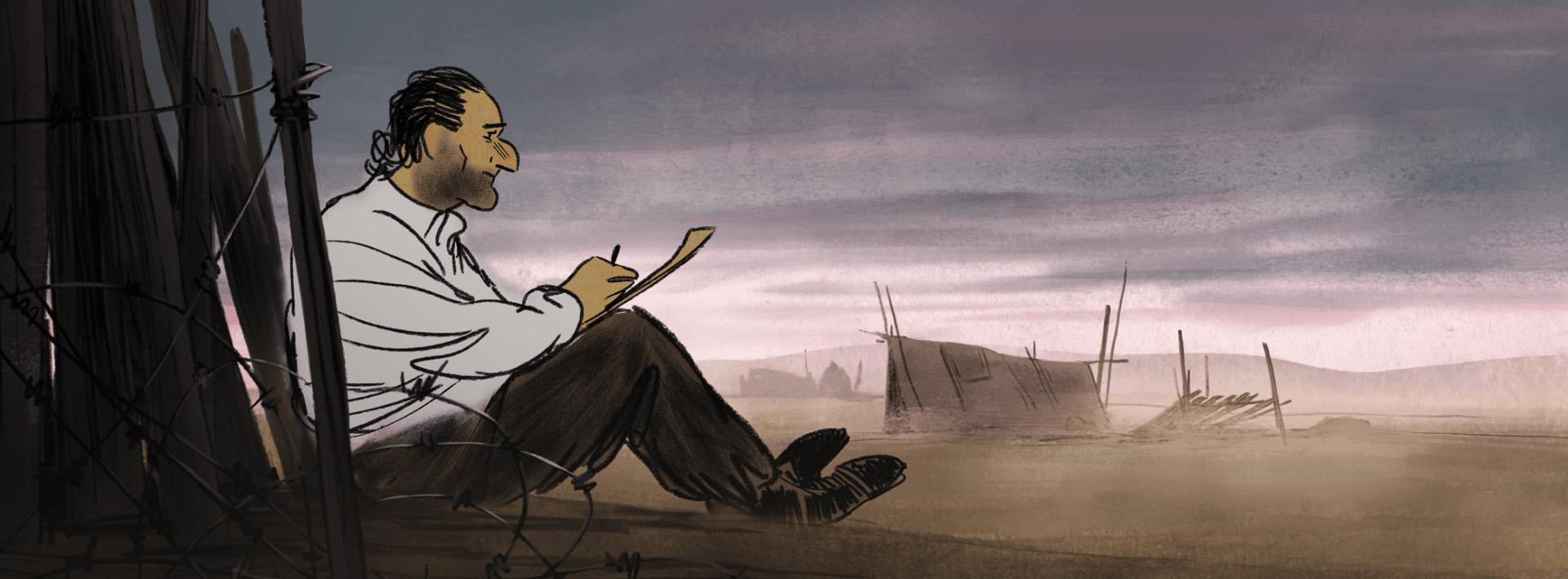 A animação Josep faz parte da seleção de filmes da Mostra de Cinema de São Paulo